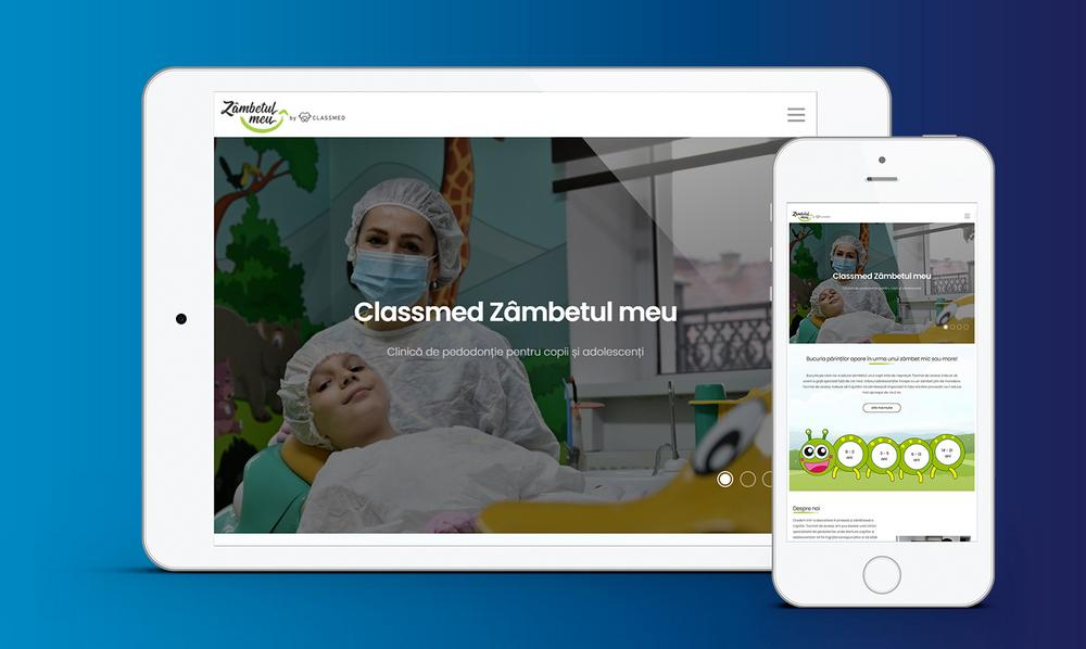 website clinica stomatologica, promovare clinica stomatologica, agentie marketing stomatologic
