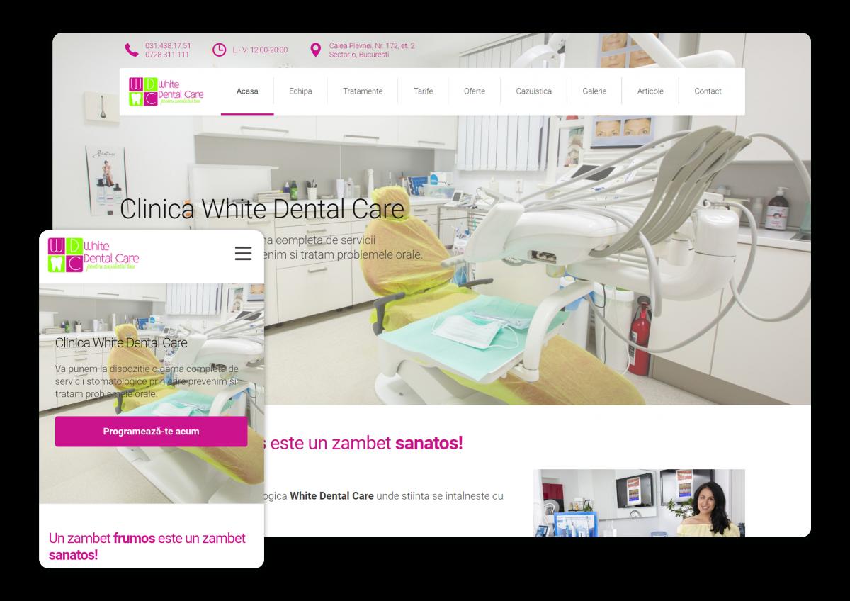 realizare site clinica stomatologica