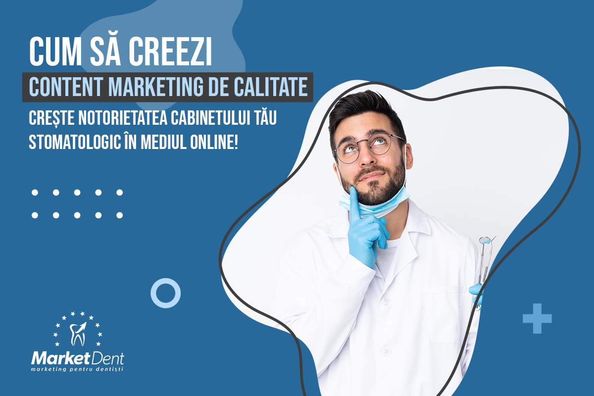 marketdent, social media clinica stomatologica, agentie marketing stomatologic